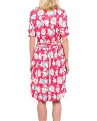 French Connection Robe Cari Meadow - Rose