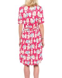 French Connection Cari Meadow Dress - Pink