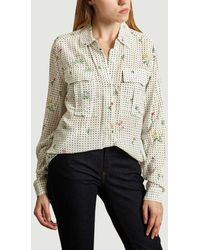 Essentiel Antwerp - Camisa de lunares florales - Lyst