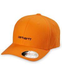 Carhartt Script Cap Orange - Naranja