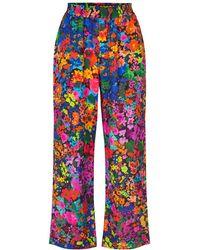 Stine Goya Pantalones Debra 60's Allover - Multicolor