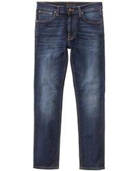 Nudie Jeans Jeans Slim Dean Lean Dean Slim - Blu