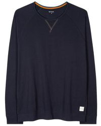 Paul Smith Long Sleeved Top Navy - Blue