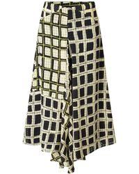 Stine Goya Https://www.trouva.com/it/products/stine-goya-lilah-check-skirt - Multicolore