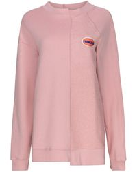 Être Cécile Sudadera Frenchie Deconstructed - Rosa