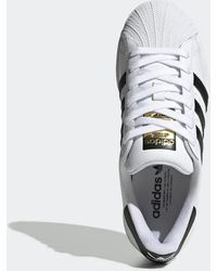 adidas Cloud White And Core Black Superstar Shoes