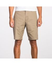 RVCA Weekend Stretch 20 Short - Brown