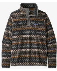 Patagonia Https://www.trouva.com/it/products/-jersey-ws-micro-d-snap-t-fleece-companions-regen-green - Multicolore