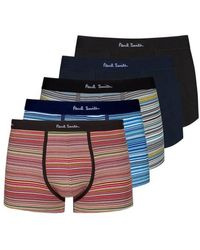 Paul Smith 5 Pack Trunk Mixed Stripe - Multicolour