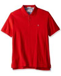 Original Penguin Das Daddy-O Slim Fit Poloshirt Chinesisch Rot