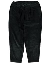 Barbour Pantaloni Jumbo Cord White Label Neri - Nero