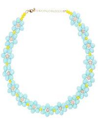 Stine Goya Collar Candy Illianna - Azul