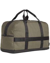 Tommy Hilfiger Utility Canvas Duffle Bag Faded Olive - Mehrfarbig