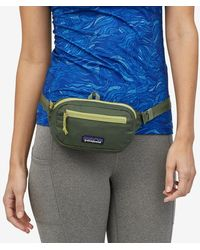 Patagonia 1l Camp Green Ultralight Black Hole Mini Hip Pack - Multicolour