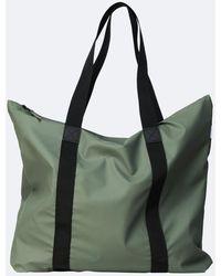 Rains Olive Tote Bag - Green