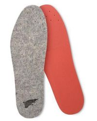 Red Wing Formkomfort Wollfußbett 96371 - Grau