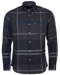 Barbour Dunoon Shirt - Blue