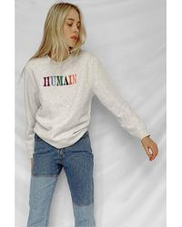 French Connection Https://www.trouva.com/it/products/french-connection-humain-organic-sweatshirt-grey - Grigio