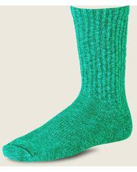 Red Wing Unisex Ragg Cotton Blend Sock Green Light Green