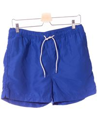 SELECTED Selected Blue Electric Bath Shorts