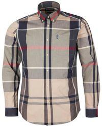 Barbour Camisa Tartan 12 Tailored Fit Piedra - Multicolor