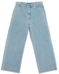 M.i.h Jeans Pantalon Lac Bébé Bleu Cordon