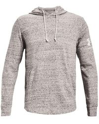Under Armour Ua Rival Terry Men's Jersey - Gray