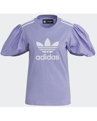 adidas X Nettoyant Sec Nettoyable Seulement Sleeve Tee Light Purple H 59037 m - Violet