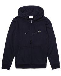 Lacoste Zip Hood Sh 4286 Navy - Blue