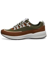 A.P.C. Jay Trainers Khaki Shoes - Brown