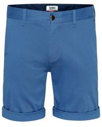 Tommy Hilfiger Https://www.trouva.com/it/products/tommy-hilfiger-tommy-jeans-essential-chino-short-blue
