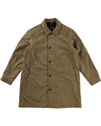 Barbour Maghill Impermeable Trench Jacket Sandstone - Verde