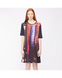 Paul Smith Print Jersey Dress - Multicolour