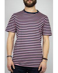 Albam Camiseta simple Navy Dusty Cedar - Azul