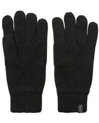 SELECTED Wool Gloves Black
