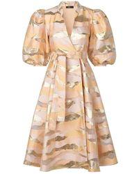 Stine Goya Vestido Belinda Horizon Gold - Metálico