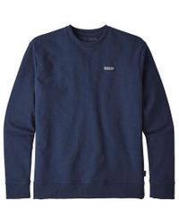 Patagonia Ms P 6 Label Uprisal Crew Sweatshirt Classic Navy - Azul