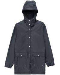 Herschel Supply Co. Https://www.trouva.com/it/products/herschel-supply-co-black-womens-rainwear-jacket - Blu