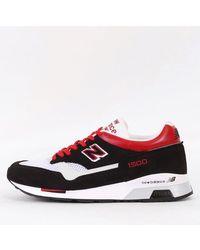 New Balance Schwarz Rot M1500 WR Schuhe
