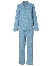 Becksöndergaard Back Sondergaard Tiny Flower Pyjama Set - Blue