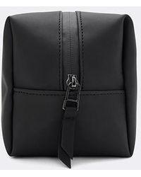 Rains Small Wash Bag - Black