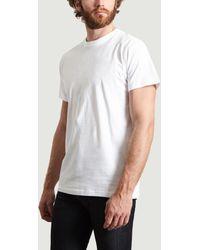 Norse Projects - Weißes Niels Standard SS T-Shirt aus Baumwolle mit kurzen Ärmeln - Lyst