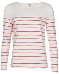 Barbour Womens Hawkins Stripe Top Multi Stripe - Multicolor
