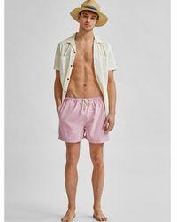 SELECTED Selected Lila Bath Shorts - Multicolour