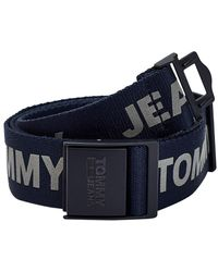 Tommy Hilfiger Tommy Jeans Gurtband Twilight Blue - Blau