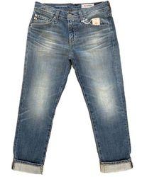 AG Jeans Ex Boyfriend Slim Jeans 16 Jahre Gewohnheit - Blau