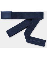 Carhartt Cintura tonale Space Script - Blu