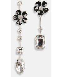 Essentiel Antwerp Antwerp - Zuesday Earrings Black - Metallic
