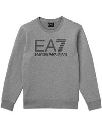 Emporio Armani Sweat Crew EA 7 Visibility Gris