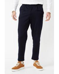 SELECTED - Pantalones híbridos de zafiro oscuro Drew - Lyst